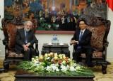 Phó Thủ tướng Vũ Đức Đam tiếp Đặc phái viên Thủ tướng Anh