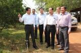 Nguyên Chủ tịch nước Nguyễn Minh Triết thăm huyện Bắc Tân Uyên