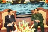 Hợp tác quốc phòng Việt-Nhật ngày càng đi vào chiều sâu