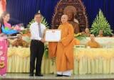 Phật giáo Bình Dương: Hơn 17 tỷ đồng làm công tác từ thiện - xã hội