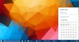 Cách kích hoạt Lịch và Đồng hồ ẩn trên Windows 10 Build 9926