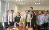 Lãnh đạo HĐND tỉnh: Tiếp Tổng Giám đốc Công ty TNHH KRAFT VINA đến chúc tết