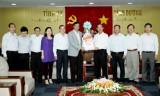 Đoàn công tác Văn phòng Quốc hội thăm và chúc tết lãnh đạo tỉnh