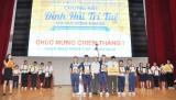 """Đội THCS Chu Văn An (Bình Dương) đoạt giải ba cuộc thi """"Đỉnh núi trí tuệ"""""""