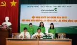 Vietcombank Bình Dương tổ chức hội nghị người lao động