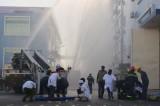 TX.Tân Uyên: Diễn tập phối hợp chữa cháy và cứu nạn cứu hộ nhiều lực lượng