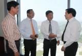 Lãnh đạo tỉnh tiếp đoàn cán bộ cấp cao tỉnh Quảng Ngãi