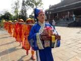 Tái hiện nghi lễ dựng nêu ngày Tết tại Hoàng Cung-Đại Nội Huế