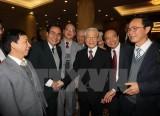 Ban Bí thư Trung ương Đảng gặp mặt các trí thức, văn nghệ sỹ