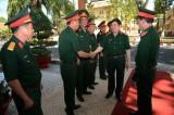 Thượng tướng Phạm Xuân Hùng thăm và kiểm tra trường Nghề 22