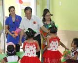 Trường Mầm non Chí Hùng: Đáp ứng nhu cầu gửi trẻ cho công nhân lao động