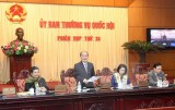 Chuẩn bị khai mạc phiên họp thứ 35 Ủy ban thường vụ Quốc hội