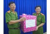 Đoàn công tác của Tổng cục Cảnh sát, Bộ Công an: Thăm và làm việc tại Công an tỉnh Bình Dương