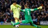 Luis Suarez nhấn chìm Man City ngay tại Etihad
