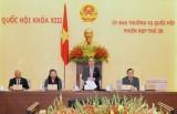 Khai mạc Phiên họp 35, Ủy ban Thường vụ Quốc hội khóa XIII