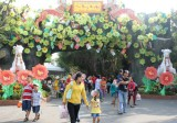 Du xuân thỏa thích tại Khu Du lịch văn hóa Suối Tiên