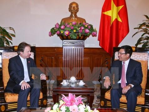 Chính phủ Anh coi trọng tăng cường quan hệ hợp tác với Việt Nam