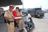Tổ chức tuần tra vũ trang, giữ vững an ninh trật tự, an toàn giao thông trên địa bàn TX.Thuận An
