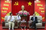 Chủ tịch UBND tỉnh Trần Văn Nam tiếp và làm việc với lãnh đạo Công ty TNHH Yazaki EDS Việt Nam