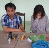 Bắt nhóm sử dụng ma túy trong nhà nghỉ