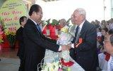 Bốn bang người Hoa chúc tết lãnh đạo tỉnh nhân dịp rằm tháng Giêng
