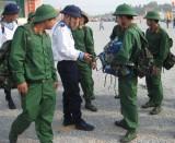 Huyện Dầu Tiếng: Làm tốt công tác hậu phương quân đội