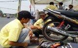 Thanh niên tình nguyện mùa lễ hội