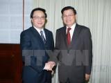 Đoàn đại biểu Đảng Nhân dân Cách mạng Lào thăm Việt Nam