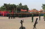 Lực lượng vũ trang tỉnh: Ra quân huấn luyện chiến đấu năm 2015