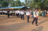 Phú Giáo: 135 thanh niên hăng hái lên đường nhập ngũ