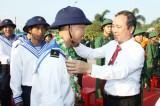 Bàu Bàng: Tiễn đưa 120 thanh niên ưu tú lên đường nhập ngũ