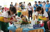 Công đoàn khu công nghiệp Việt Nam – Singapore tổ chức thi nấu ăn mừng ngày 8-3