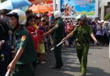 Công tác giữ gìn an ninh trật tự cho lễ hội chùa Bà được bảo đảm