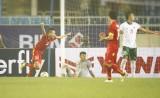 Huy Toàn lập công giúp Olympic Việt Nam đánh bại Indonesia