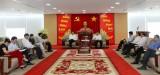 Bình Dương: Tiếp và làm việc với đoàn lãnh đạo tỉnh Sơn La