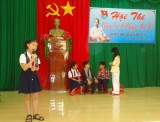 """Huyện đoàn Phú Giáo: Tổ chức Hội thi """"Chúng em kể chuyện Bác Hồ"""""""