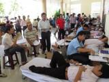 Huyện Bắc Tân Uyên: Hơn 200 người tham gia hiến máu tình nguyện