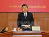 Chủ tịch nước chủ trì họp Ban Chỉ đạo Cải cách tư pháp Trung ương