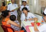 Nhiều trẻ nhập viện do thời tiết nắng nóng