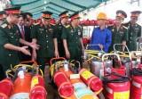Quân đoàn 4: Mít -tinh hưởng ứng Tuần lễ quốc gia về ATVSLĐ, PCCN lần thứ 17 năm 2015