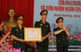 Trường Trung cấp Nghề số 22 - Bộ Quốc phòng đón nhận Huân chương Lao động hạng Ba