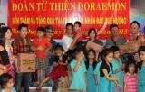 Đoàn nghệ sĩ hài Bảo Chung, Tấn Beo giúp đỡ trẻ em mồ côi và khuyết tật