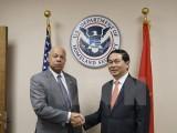 Bộ trưởng Trần Đại Quang thăm và làm việc tại Liên hợp quốc