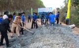 Đoàn khối Doanh nghiệp tỉnh: Khởi công công trình thanh niên