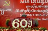 Míttinh kỷ niệm 60 năm thành lập Đảng Nhân dân Cách mạng Lào