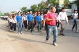 700 người tham gia Ngày chạy Olympic phường Thuận Giao
