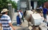 Xã Tam Lập, Phú Giáo: Nhân dân đóng góp bê tông hóa tuyến đường giao thông nông thôn