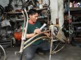 Những chiếc xe đạp của anh Thái