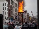 Nổ khí gas gây hỏa hoạn lớn tại thành phố New York