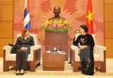 Quốc hội Việt Nam-Cuba thúc đẩy quan hệ hữu nghị và hợp tác